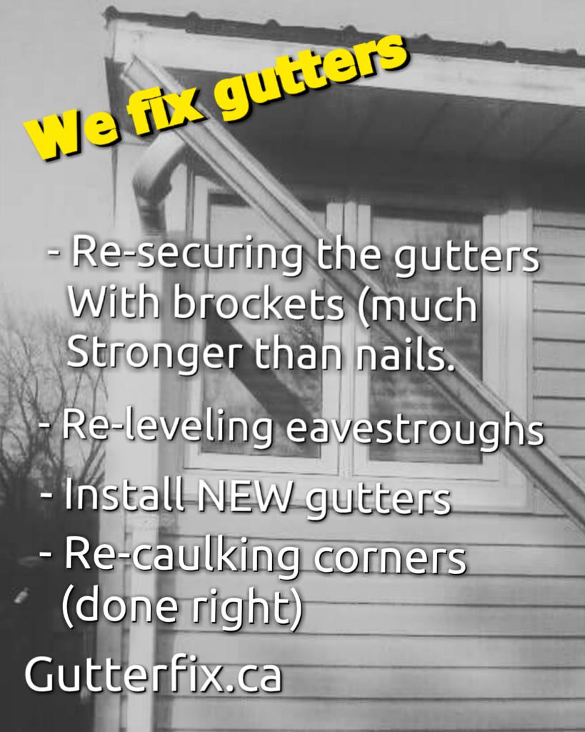 we fix Gutters